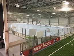 Ball hockey rink (its a big one!)