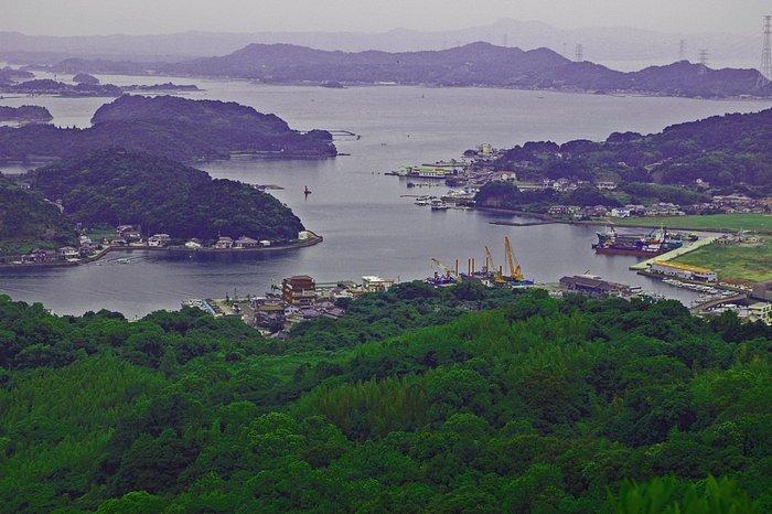 Matsushima from Mt. Sengan  千厳山 熊本