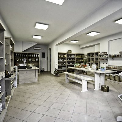 wide view of the store