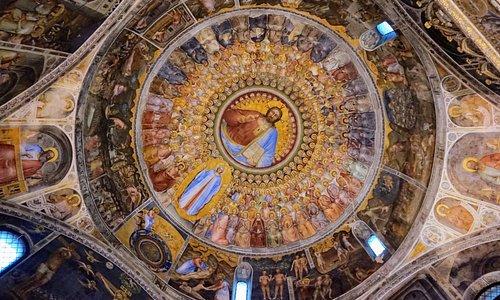 Plafond baptisterium Padua