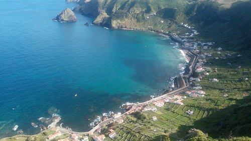 A baía de São Lourenço serviu, até à época dos antigos paquetes