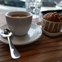 espresso and banana bread – just lovely