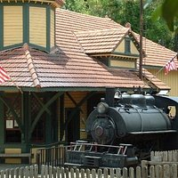 Steam Engine and Depot