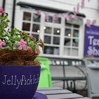 JellyPickleJam from the courtyard