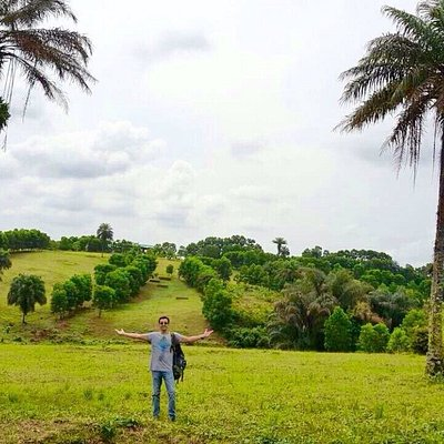Lovely place! Large farm with swimming pool. Golf course. Tennis court s. Crocodiles and few oth