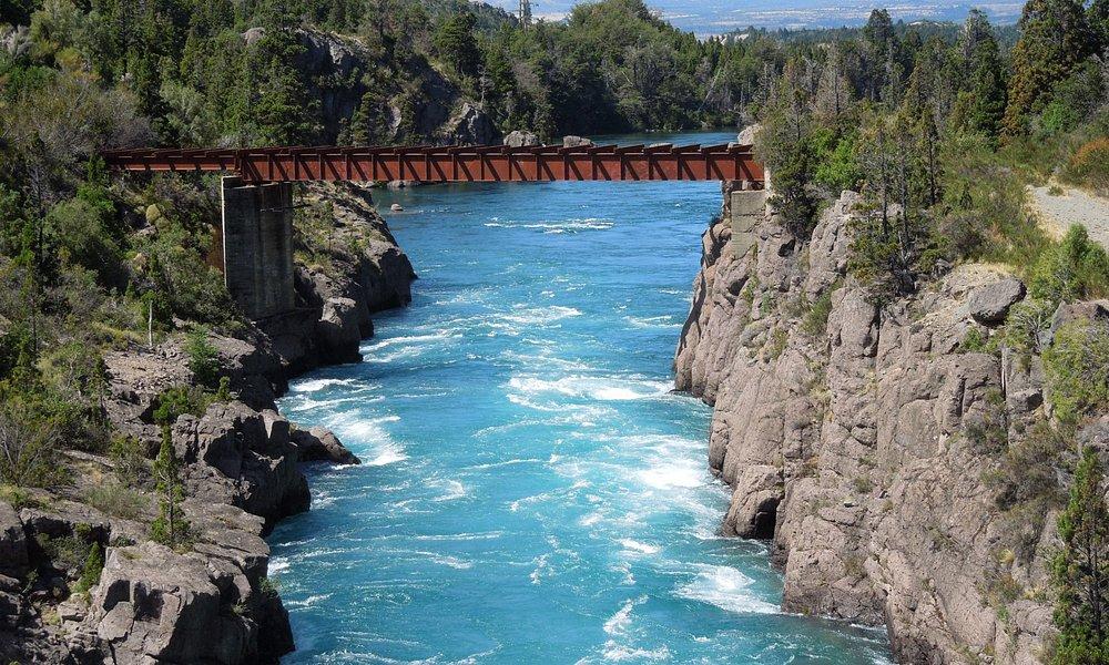 Vista del Río Futaleufu