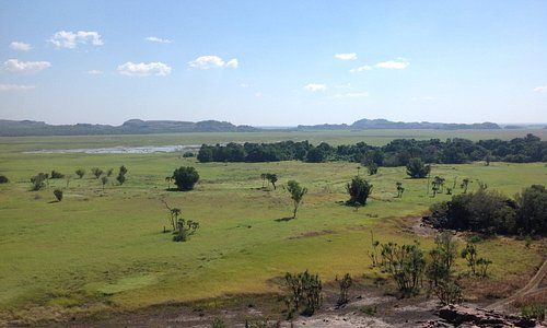 The view over the plains from the top of Ubirr at Kakadu