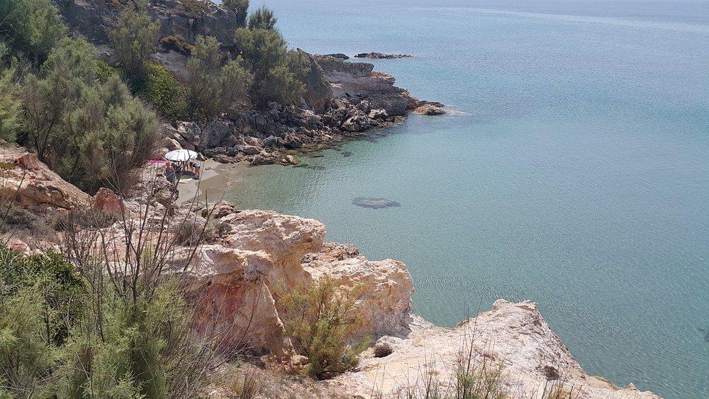 Μικρό Φαναράκι Λήμνου μικρή παραλία