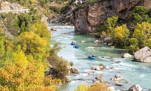 Durante las actividades hay tiempo para respirar y disfrutar del paisaje