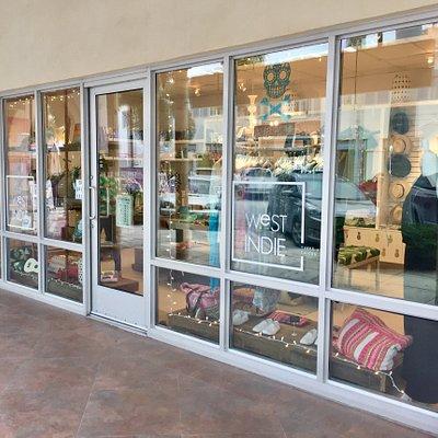 Shop front West Indie, Regent village, Grace bay.
