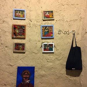 Art gallery, Salakh-Qeshm Island, Iran
