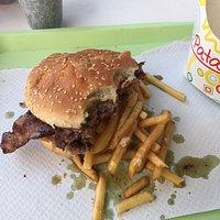Double burger 😋