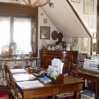 Bureau de Maurice Carême (copyright Annick DDB - Jordens)