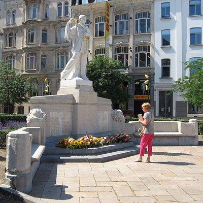 monument aux Forains morts pour la Belgique