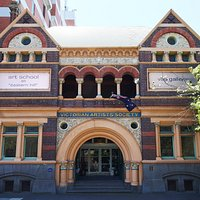The Victorian Artists Society heritage listed building, which has 5 galleries was built in 1892.