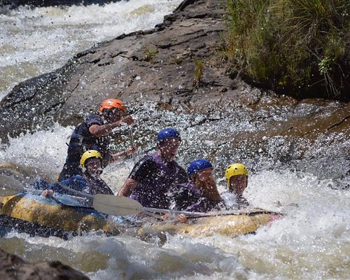 shock and awe coming down the rapid - got out, carried back and did it AGAIN!! :)