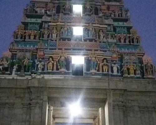 Gopuram View with Night Effect