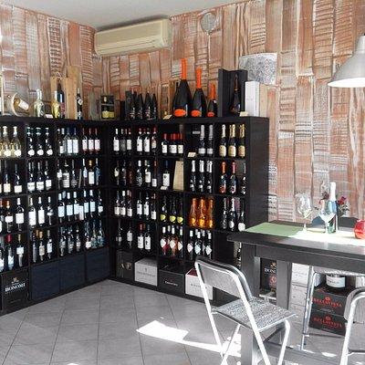 La possibilita' di degustare ottimi vini