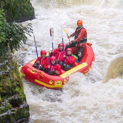 White water rafting Llangollen