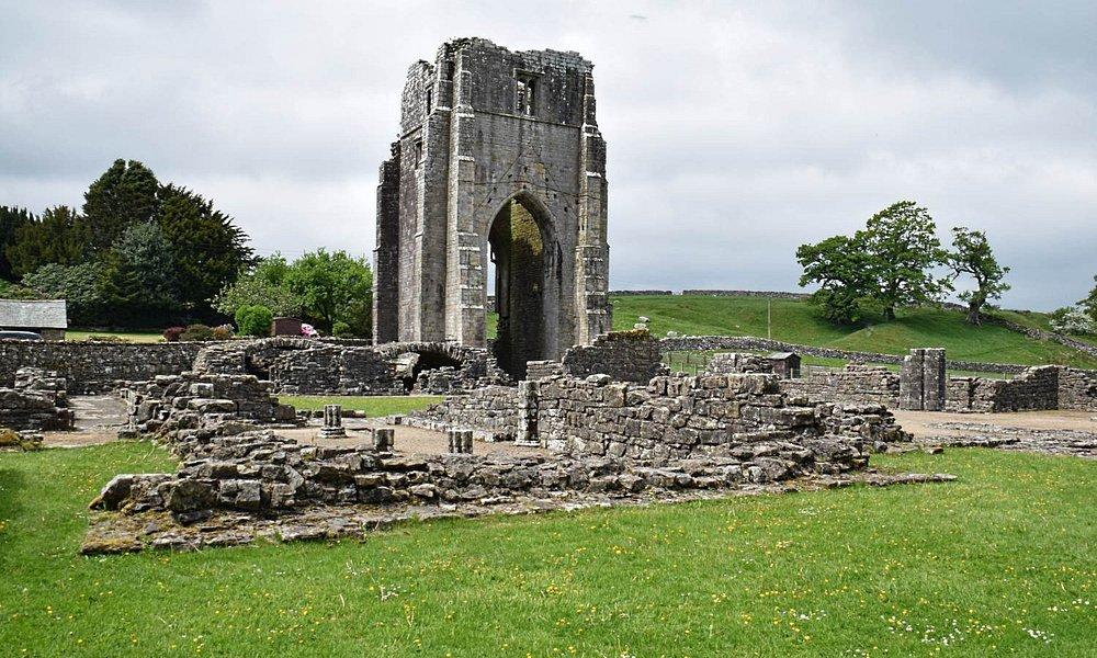 Main Tower at Shap Abbey.