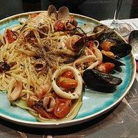 Pasta with frutti di mare