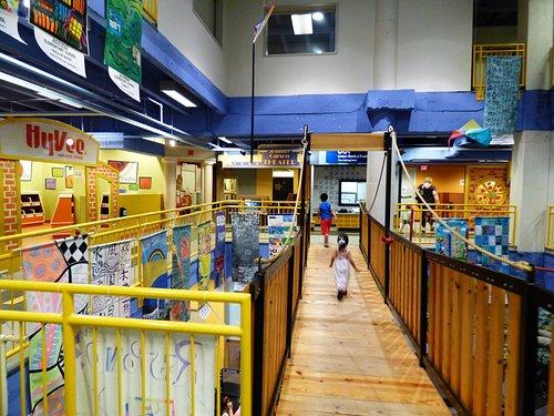Swinging Bridge Inside the Museum