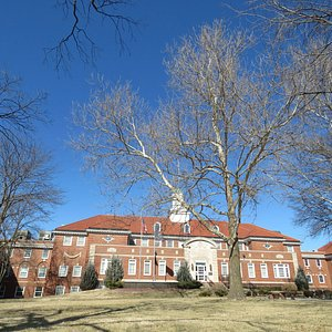 Kansas School for the Deaf - across the street