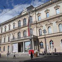 Tyrolean Provincial Museum (Tiroler Landesmuseum Ferdinandeum) on Museum Straße.