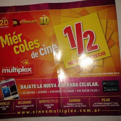 Cines Multiplex Belgrano- Bs.As. 2017.