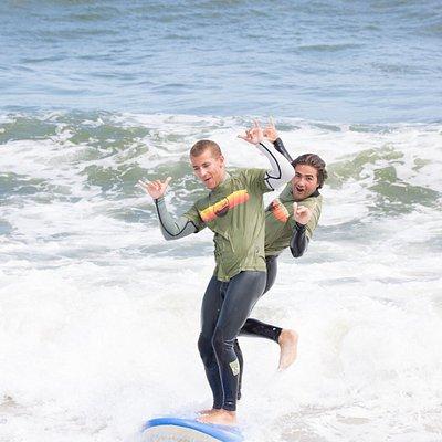 Instructors having fun!