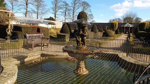 Fish Pond in Walled garden