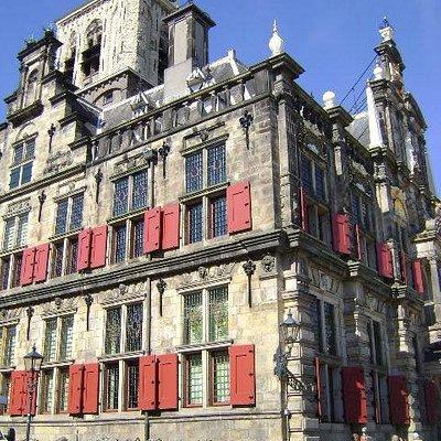 Stadthuis van Delft, Delft, Holanda.