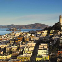 Coit Tower - From Financial District