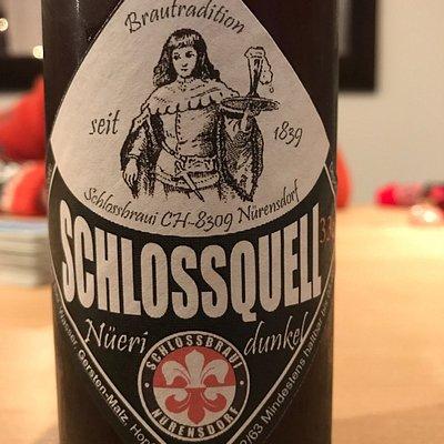 Das dunkle... einfach traumhaft gutes Bier