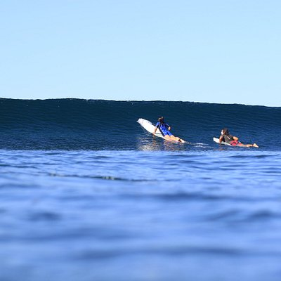 Are you ready to paddle out ?