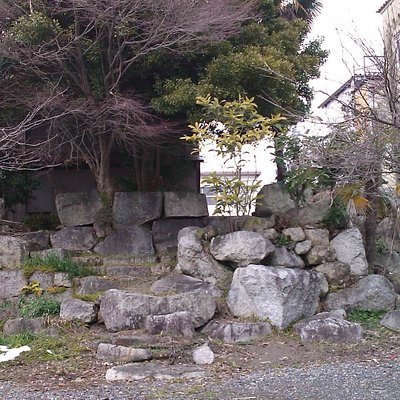 The Leftover of the Wharf (?) of the Local Administrator's Office in Imazu of the Maeda Clan