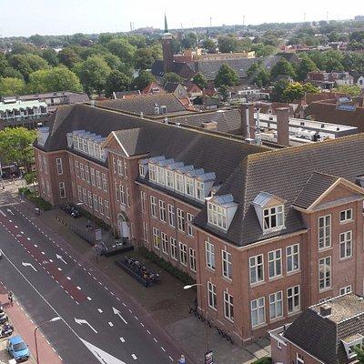 Regionaal Archief Alkmaar (view from De Alkmaarse Watertoren).