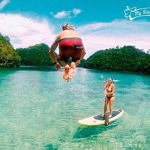Sugba Lagoon SUP Adventure!