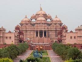 Akshardham Temple , In Delhi
