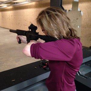 The 50 yard rifle range