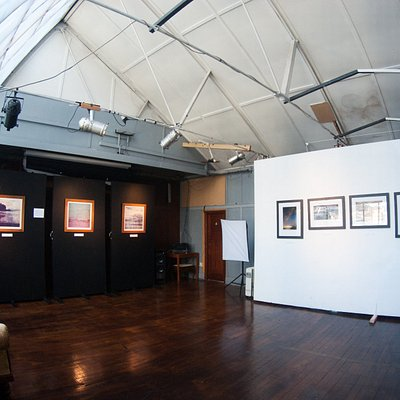 check our calendar to see if there is a art exhibition on while you are in Dunedin