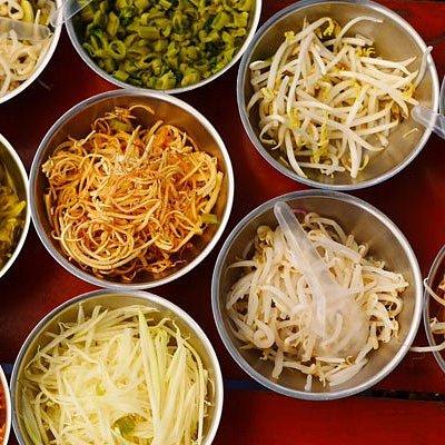vegetable buffet in Phuket