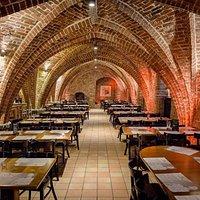 Prawa część sali Browaru Wyszak / The right part of the hall Brewery Wyszak