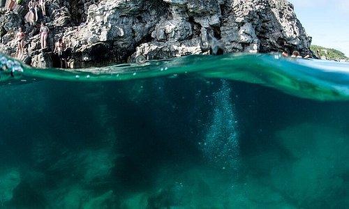 Cavern diving on Georgian Bay, AKA the grotto