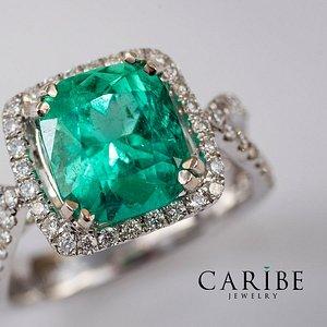 Colombian emeralds, Caribe emeralds