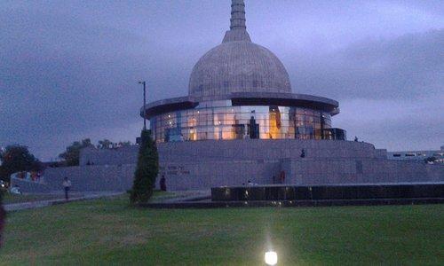 Front View of Buddha Smriti Park