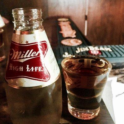 Mini beer and fireball 😍