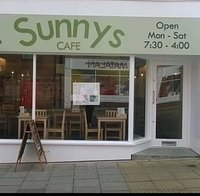 Sunnys Cafe, St Thomas, Scarborough. Pay and display car park to rear.