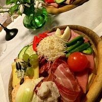 Mixed platte