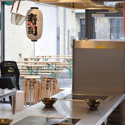 Inside our kitchen in Copenhagen